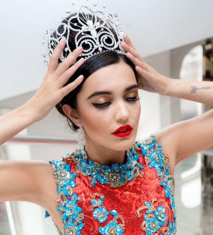 Image of Miss Gibraltar Celine Bolaños