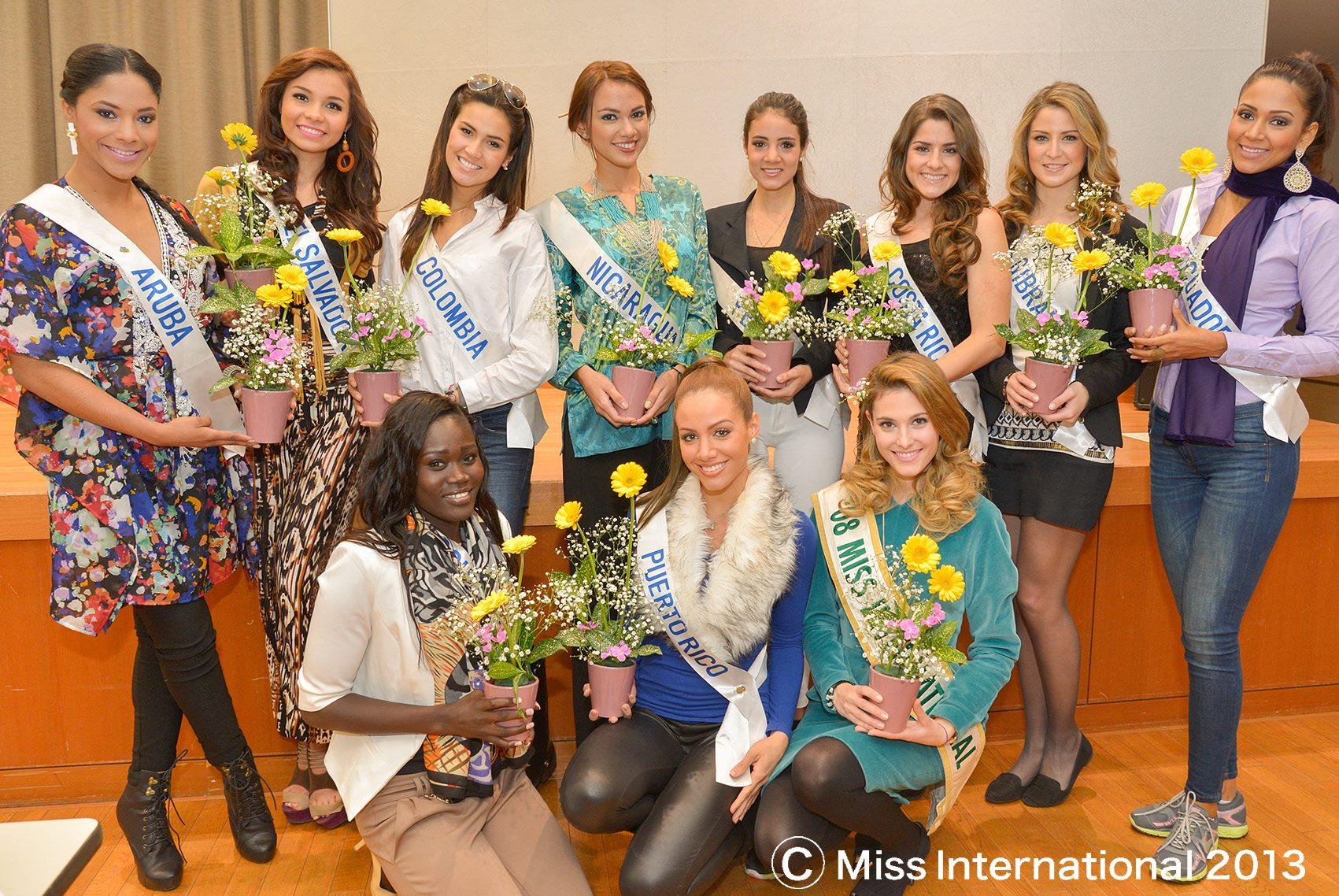 2013 Miss International Image