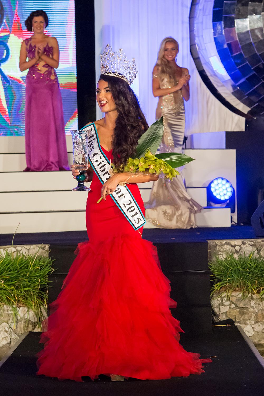 Miss Gibraltar 2015 Winners Image